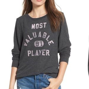 NWT Wildfox Most Valuable Player sweatshirt